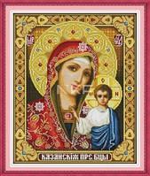 Казанская Божья мать Набор для вышивки крестом канва14СТ