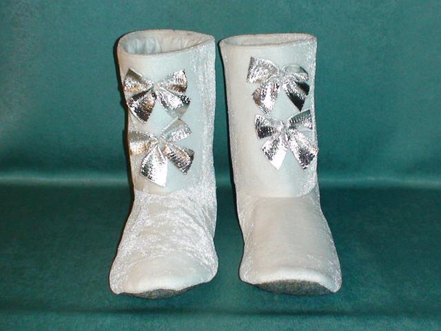 Обувь снегурочки своими руками