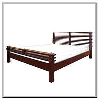 Кровать Акеми  (деревянная, двуспальная) Елисеевская мебель, Киев