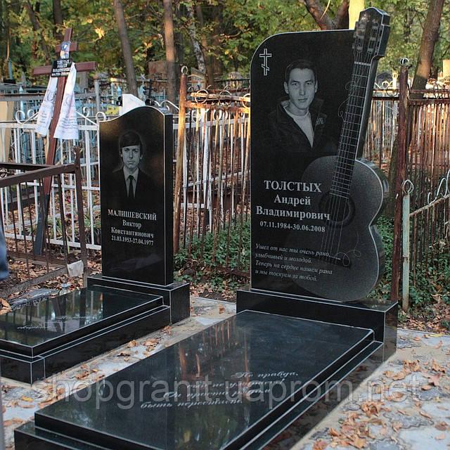 Памятники на могилу екатеринбург цены Прямоугольный вертикальный памятник Полесск