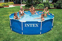 Каркасный бассейн Intex(ИНТЕКС)56997 Metal Frame Pool (305 х 76 см)киев