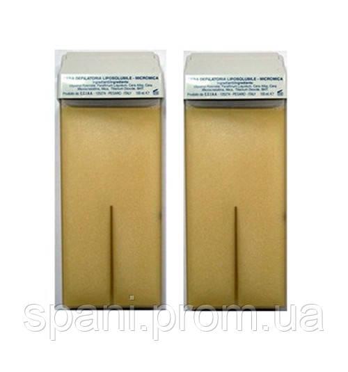 Skin system, воск кассетный с микромикой натуральный, италия, 100 мл - купить по лучшей цене в киеве от компании \