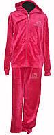 Велюровый костюм для девочки, фото 1