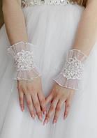 """Свадебные перчатки """"Браслет-1"""""""