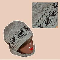 Вязаные женские зимние шапки
