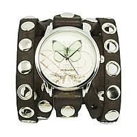 Наручные часы на эксклюзивном ремешке Бабочка