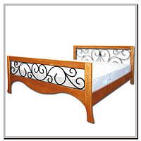 Кровать Калерия (деревянная, двуспальная) Елисеевская мебель, Киев