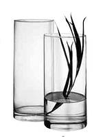 Ваза из стекла Flora Н260мм 43846