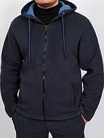 Флисовая толстовка для мужчин с капюшоном
