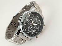 Часы мужские TISSOT - PRC200 кварцевые, цвет стальной, циферблат черный