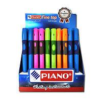 251- PT «Piano» ручка шариковая, правша, син.