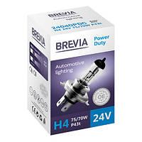 Галогеновые лампы Brevia H4 24V POWER DUTY