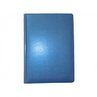 Ежедневник датированный BRISK OFFICE CAPRICE Стандарт А5 (14,2х20,3) голубой металлик