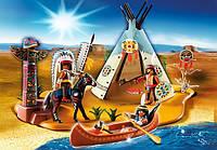 Конструктор Playmobil Лагерь индейцев 4012