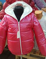 Куртка- жилетка на девочку (весна-осень)