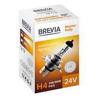 Галогенные лампы Brevia H4 24V  MASTER RALLY