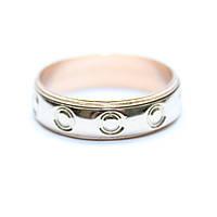 Обручальное кольцо с прокручивающимся сегментом