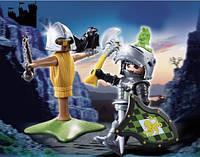 Конструктор Playmobil Рыцарь с тренировочным инвентарем 4768