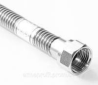 """Шланг гибкий металлический для воды в/н ½"""" L-40см AYVAZ Pу10"""