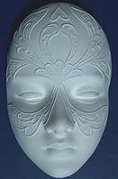 Маска из гипса №1, ажурная маска заготовка