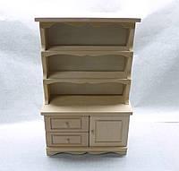 Кукольная мебель Шкаф кухонный