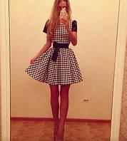 Платье Гусиные лапки