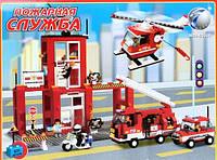 """M38-B3100 Конструктор серии BRICK """"Пожарные спасатели"""" 693 дет."""