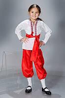 Детский карнавальный костюм Украинец (р. 40-48)