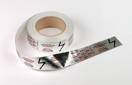 лента алюминиевая клейкая 38мм 50м devi цена
