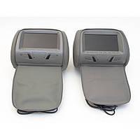 Комплект подголовников с монитором KLYDE Ultra 7727HD gray (серый)