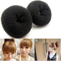 Пончик для создания гульки, аксессуар для волос, инструмент для прически, малый, диаметр 6 см