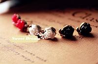 Новинка! Модные асимметричные серьги Розочки в ретро стиле, подарочные серьги