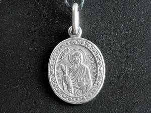 Икона нательная Мария