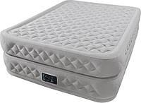Надувная кровать Queen Supreme Air-Flow 66962 INTEX