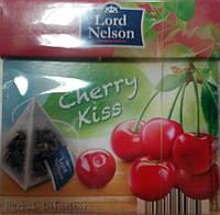 Чай фруктовый в пирамидках Lord Nelson Вишня 20шт