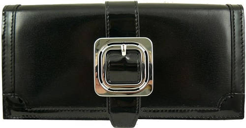 Оригинальный и качественный кожаный кошелек WANLIMA (ВАНЛИМА) W01047281226-black черный