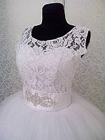 """Свадебное платье """"Бабочка-майка"""""""
