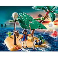 Конструктор Playmobil Остров с пиратом, потерпевшим кораблекрушение 5138