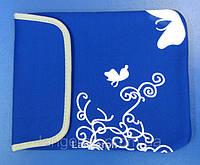 Обложка мягкий синий розовый чехол для планшета 10'' 9.7 дюймов
