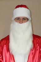 Борода Деда Мороза из меха