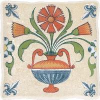 Керамическая плитка Cersanit  DEC VIKING COTTAG 1 EKRU декор Арт. 134045