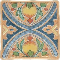 Керамическая плитка Cersanit  DEC VIKING COTTAG 2 ORANGE декор Арт. 134049
