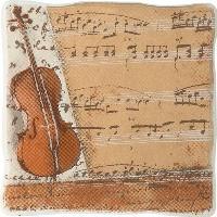 Керамическая плитка Cersanit  DEC VIKING PIANO 1 декор Арт. 134051