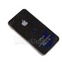 3D Защитная пленка для iPhone 4/4S (Бабочка 2)