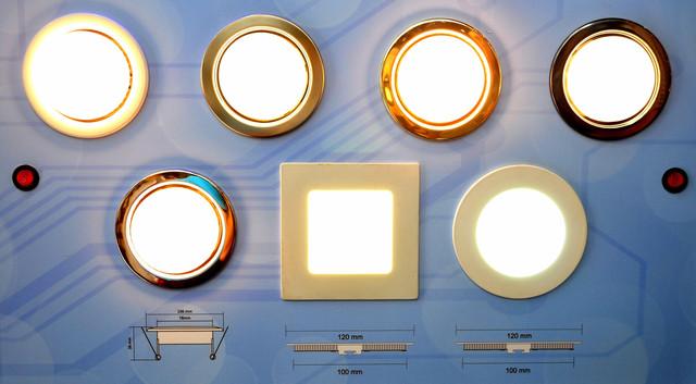 LED светильник (6 Вт, 120х120 квадрат) Bellson