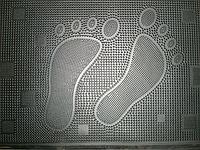 Резиновый коврик для дома  К-2