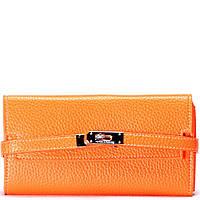 Женский кошелек 989 оранжевый