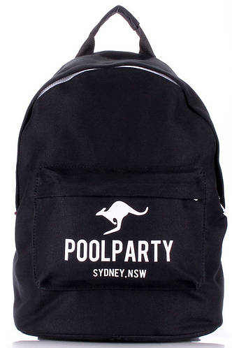 Молодежный рюкзак 17 л. Poolparty backpack-kangaroo-black