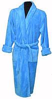 Женский халат небесно голубого цвета оптом