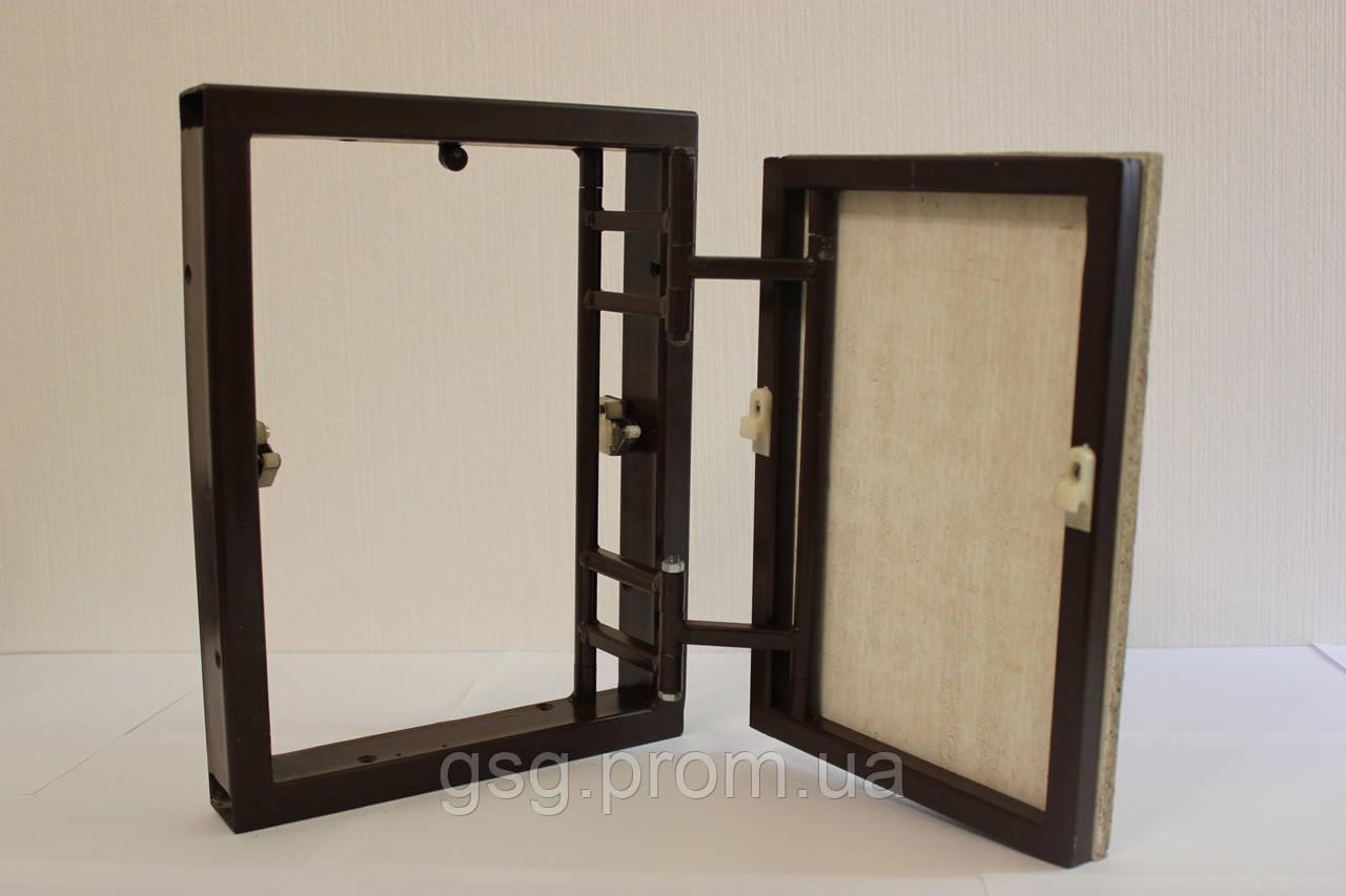 ревизионные люки в дизайне зеркало